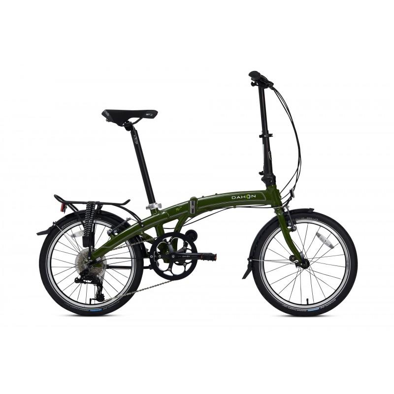 Dahon MU D8 Katlanır Bisiklet (Askeri Yeşil)