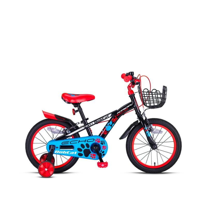 Kron Bobcat 20 V Çocuk Bisikleti (Siyah Kırmız�...