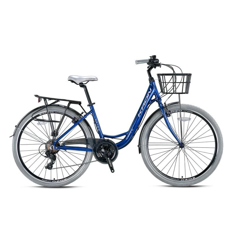 Kron Cx100 28 V Şehir Bisikleti (Mint Yeşil Kahv...