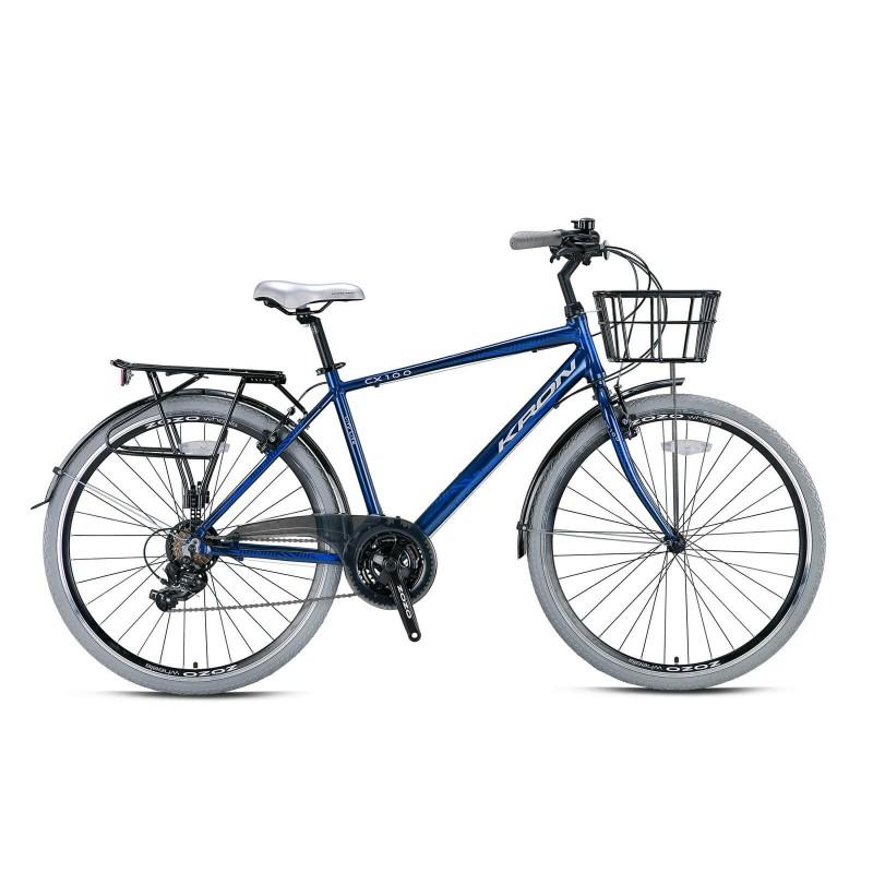 Kron Cx100 28 V Şehir Bisikleti (Füme Kahverengi...