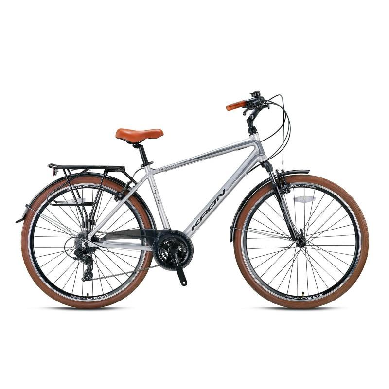 Kron Cx300 28 V Şehir Bisikleti (Mat Gri Siyah)