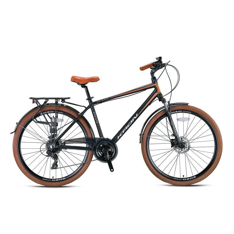 Kron Cx300 28 Hd Şehir Bisikleti (Mat Siyah Kahve...