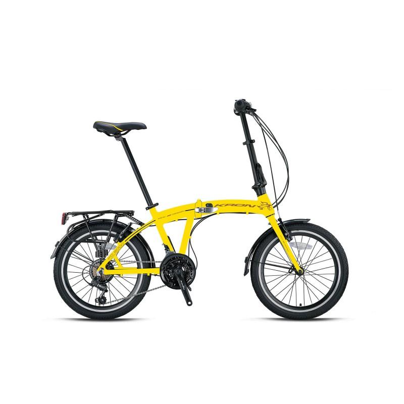Kron Fd 2000 20 V Katlanır Bisiklet (Sari Siyah)