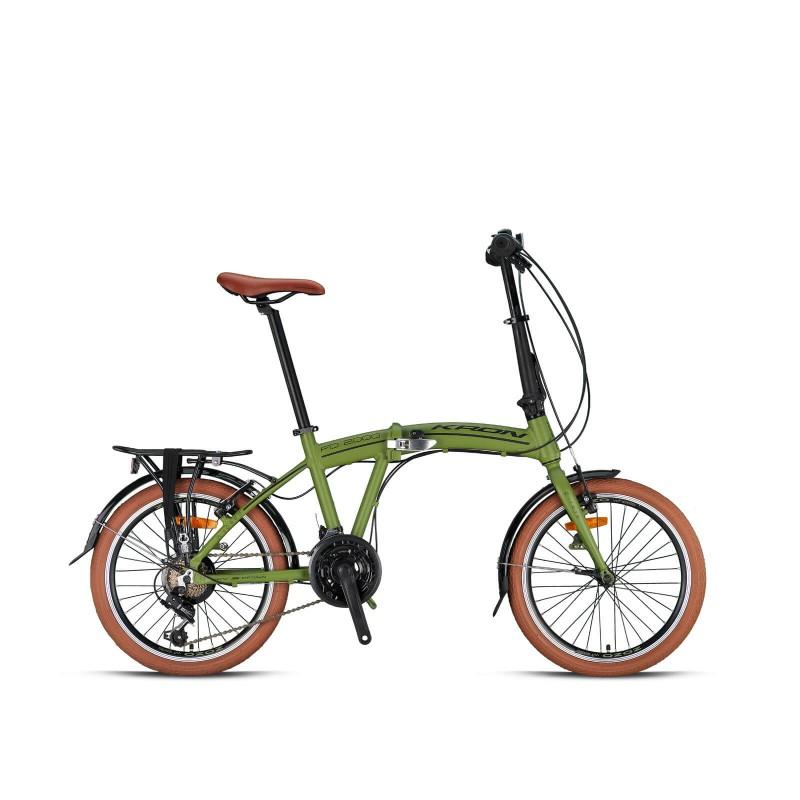 Kron Fd 2000 20 V Katlanır Bisiklet (Mat Haki Siy...