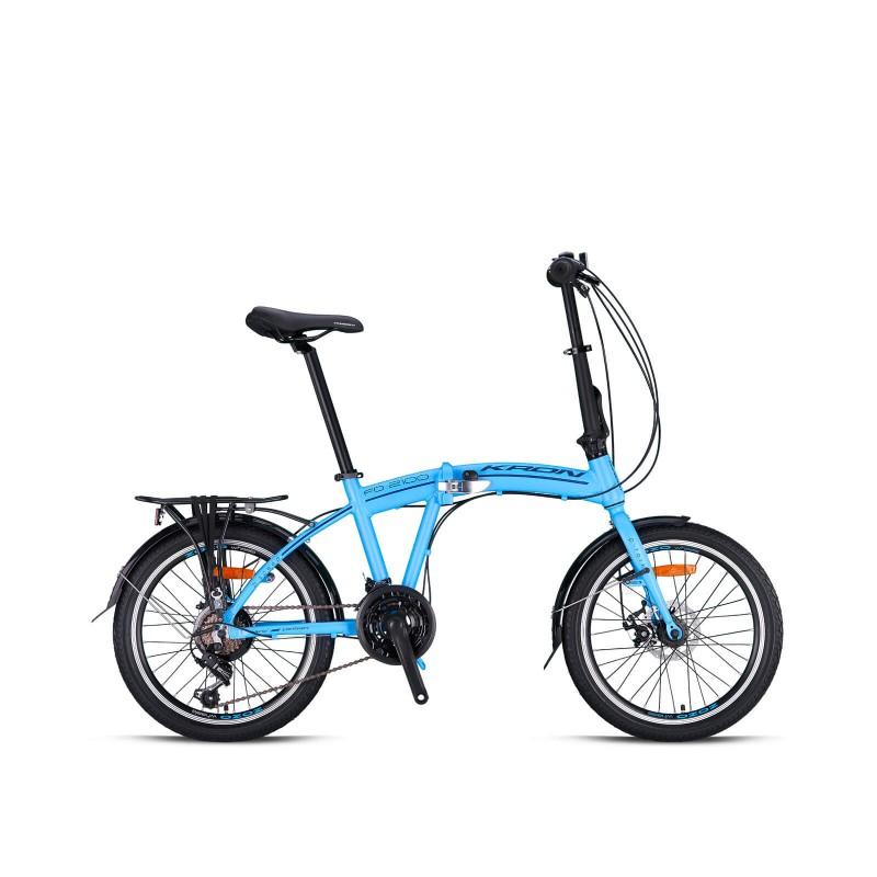 Kron Fd 2100 20 Md Katlanır Bisiklet (Bebek Mavis...