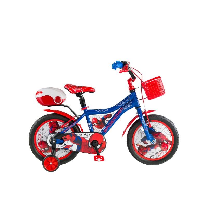 Kron Spider-Man 14 V Çocuk Bisikleti (Mavi Kırm�...