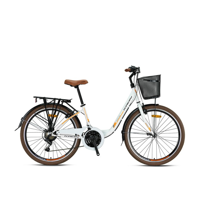 Kron Tetra 3.0 26 V Şehir Bisikleti (Mat Füme Gr...
