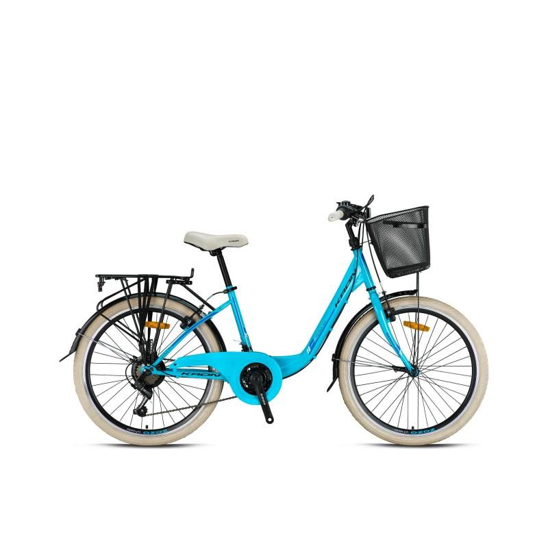 Kron Tetra 3.0 24 V Şehir Bisikleti (Bebek Mavisi...
