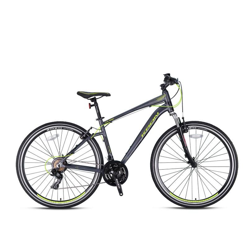 Kron Tx100 28 V Trekking Bisiklet (Mat Füme Neon ...
