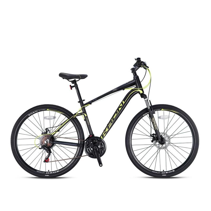 Kron Tx75 28 Md Trekking Bisiklet (Mat Siyah Sarı...