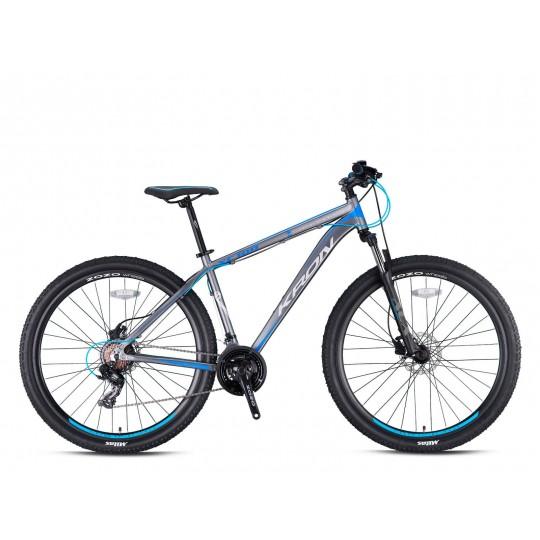Kron Xc100 27.5 V Dağ Bisikleti (Titanyum Gri Kırmızı)
