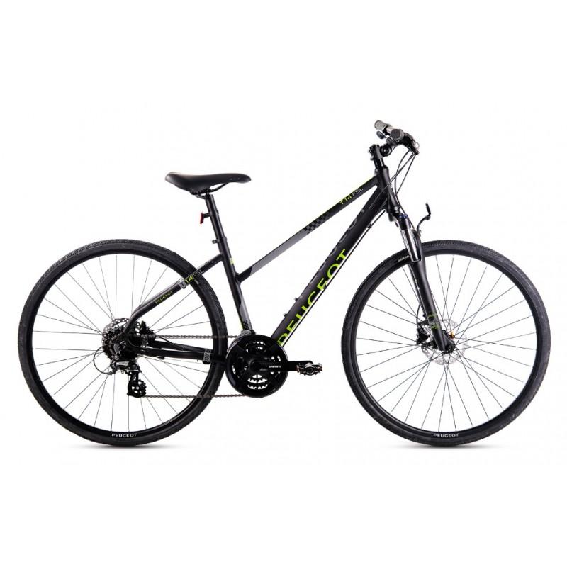 Peugeot T14FS-L 28 Hd Trekking Bisiklet (Siyah-Ye�...
