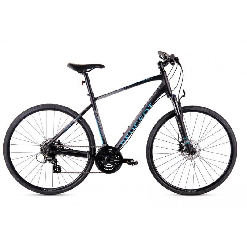 Peugeot T14FS 28 Hd Trekking Bisiklet (Siyah-Mavi)