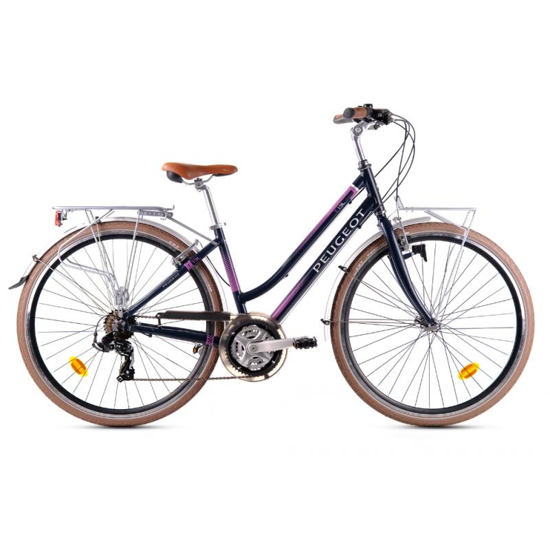 Peugeot T19-L 28 V Tur / Şehir Bisikleti (Siyah-P...