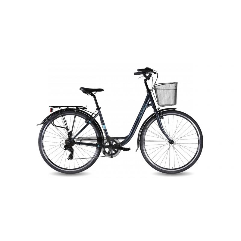 Peugeot C13 28 Jant Şehir Bisikleti (Siyah)