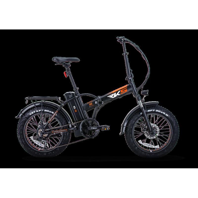 Rks Rs3 Elektrikli Katlanır Fatbike Bisiklet 20 J...