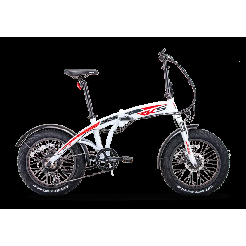 Rks Tnt15 Elektrikli Katlanır Fatbike Bisikleti 2...