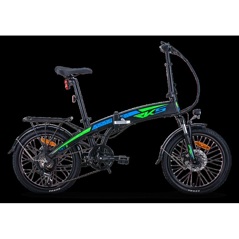 Rks Tnt5 Elektrikli Katlanır Bisiklet 20 Jant (Be...