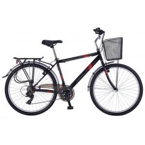Salcano Bodrum 700 28 Vr Şehir Bisikleti (Mat Siy...