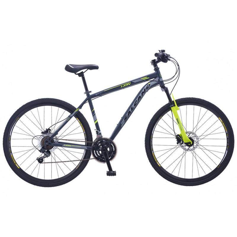 Salcano City Lion 28 V Şehir Bisikleti (Mat Siyah...