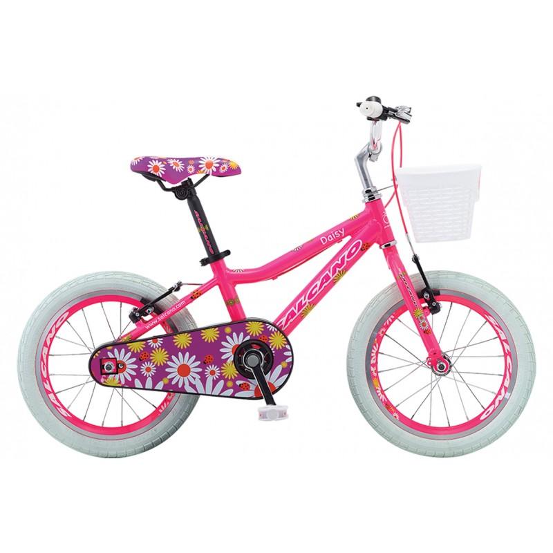 Salcano Daisy 16 Çocuk Bisikleti (Koyu Pembe Beya...