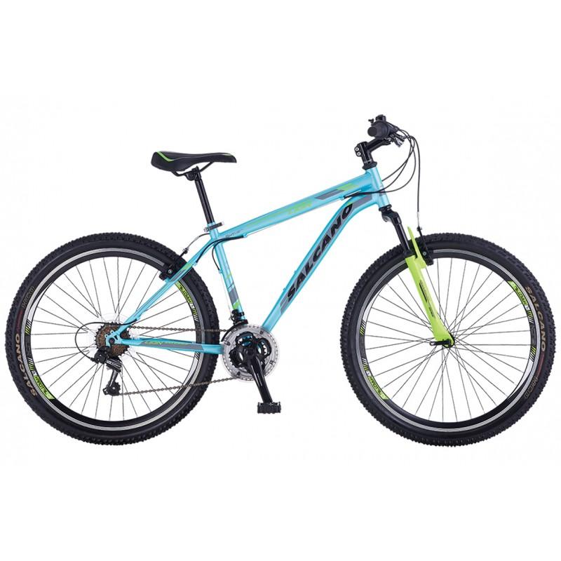 Salcano Lion 26 V Dağ Bisikleti (Mat Siyah Lacive...