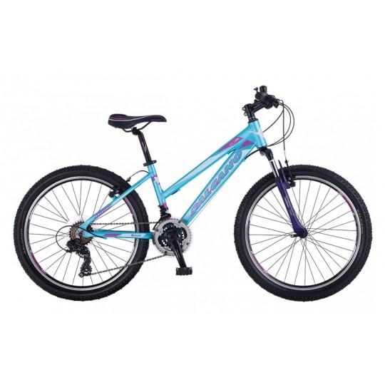 Salcano Ng750 Lady Dağ Bisikleti 24 Jant (Siyah-Mor-Pembe)