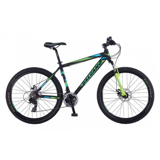 Salcano Ng750 MD Dağ Bisikleti 24 Jant (Siyah-Turuncu-Turkuaz)