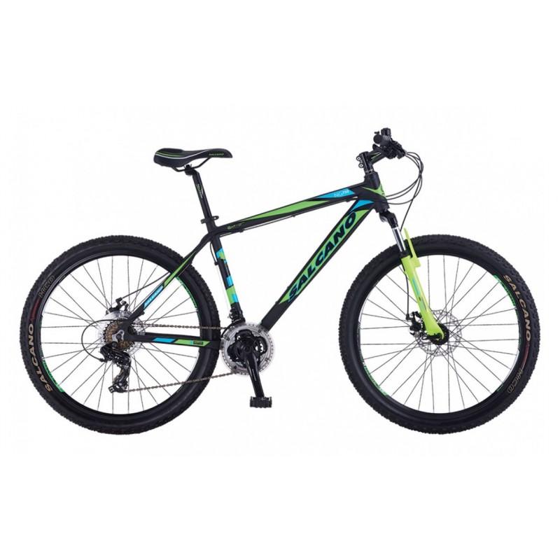 Salcano Ng750 MD Dağ Bisikleti 26 Jant (Siyah-Turuncu-Turkuaz)