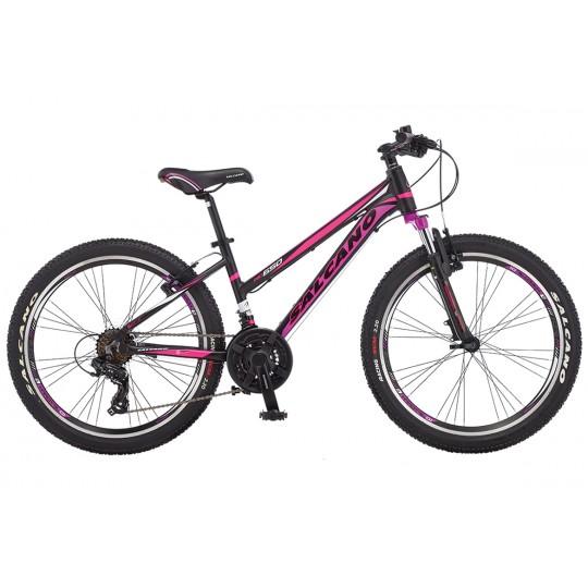 Salcano Ng650 24 V Lady Dağ Bisikleti (Siyah Pembe Siyah)