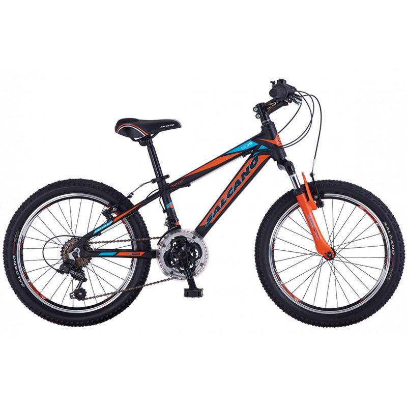 Salcano Ng750 20 V Çocuk Bisikleti (Mat Siyah Ye�...
