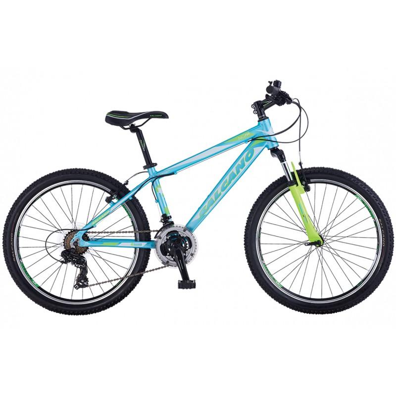 Salcano Ng750 24 V Dağ Bisikleti (Siyah-Yeşil-Tu...