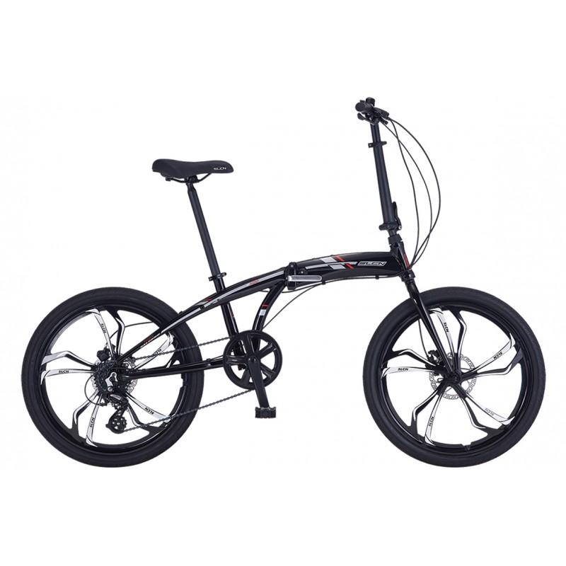 Salcano Slcn400 24 Hd Katlanır Bisiklet (Siyah Tu...