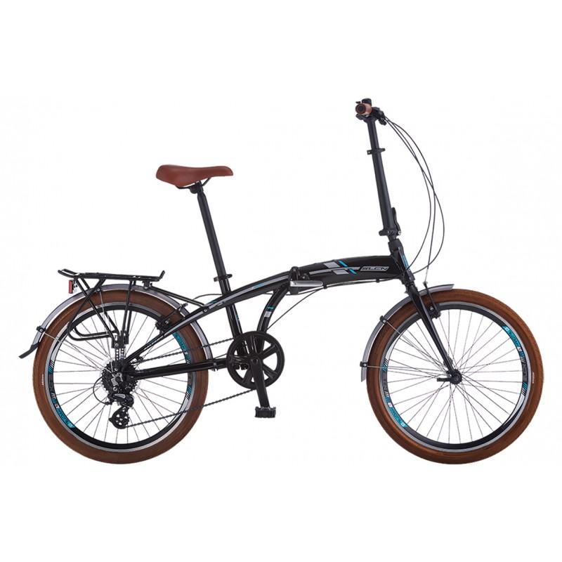 Salcano Slcn400 24 V Katlanır Bisiklet (Siyah Tur...