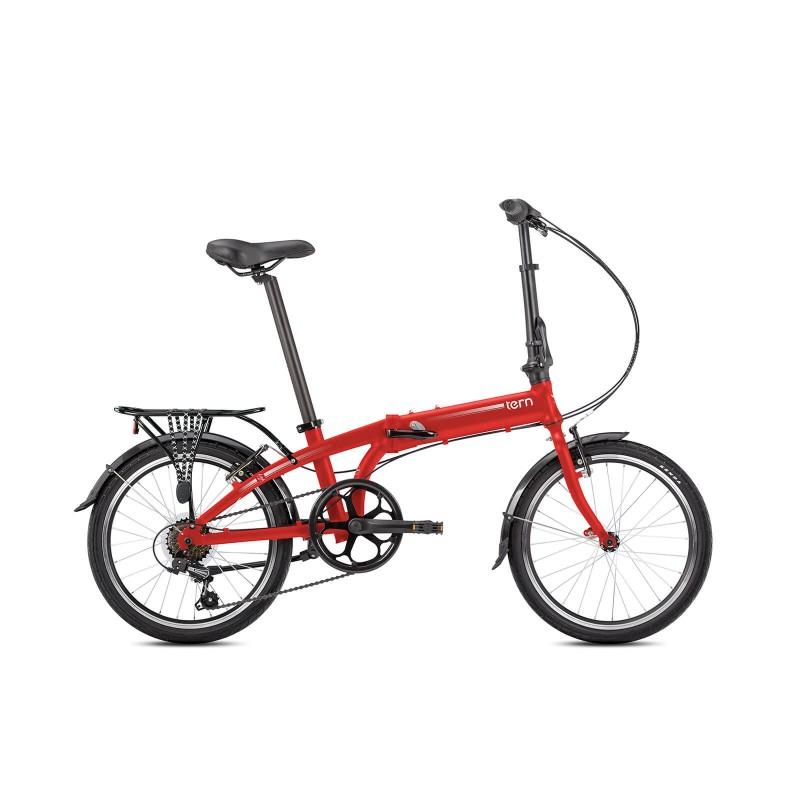 Tern Link A7 Katlanır Bisiklet (Mat Kırmızı)