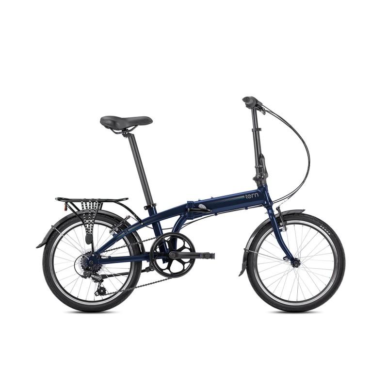 Tern Link A7 Katlanır Bisiklet (Koyu Mavi)