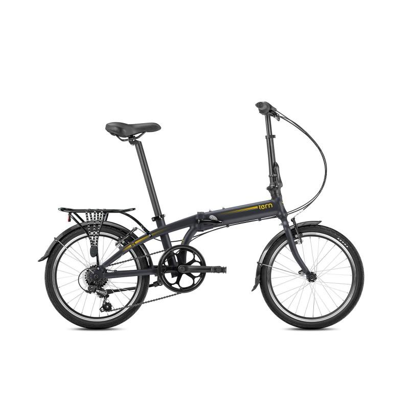Tern Link A7 Katlanır Bisiklet (Mat Füme)