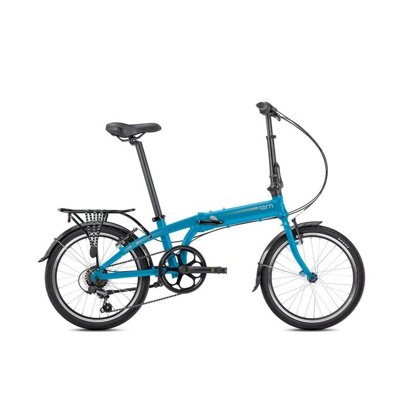 Tern Link A7 Katlanır Bisiklet (Mat Mavi)