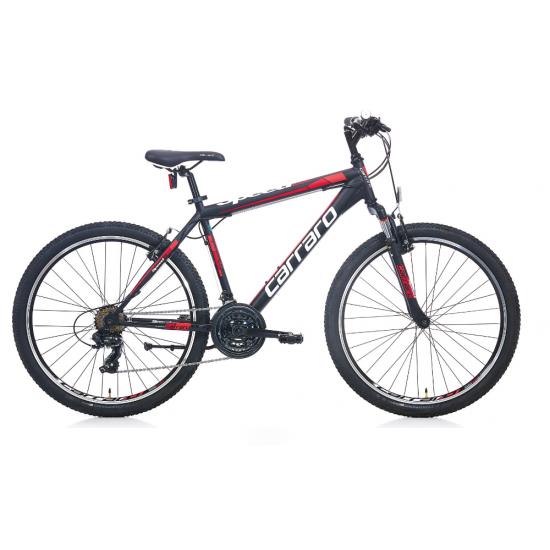 Carraro Speed 260 Dağ Bisikleti 26 jant (Mat Siyah-Kırmızı-Koyu Kırmızı)