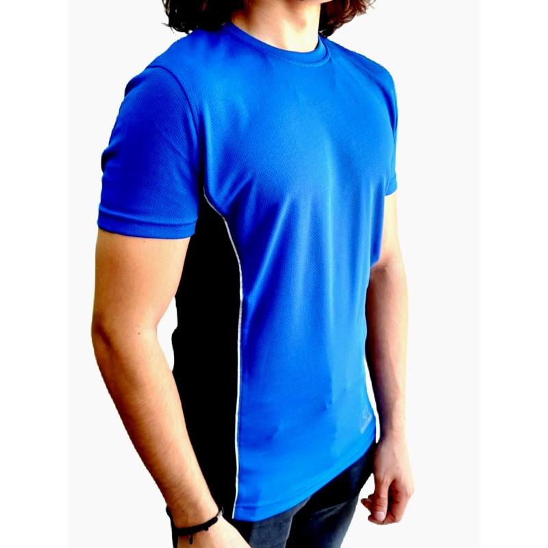 Forma Kısa Kollu Mavi Forte Slim Fit