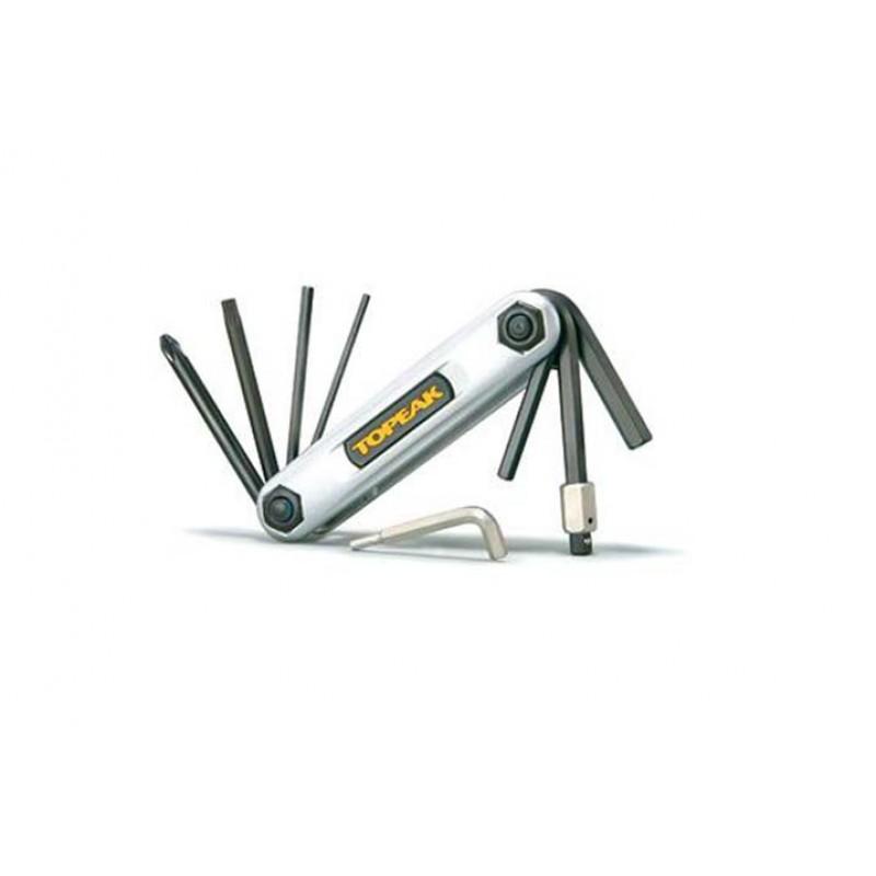 Alyan Çakı TOPEAK - X Tool - 10 Fonksiyonlu Alya...