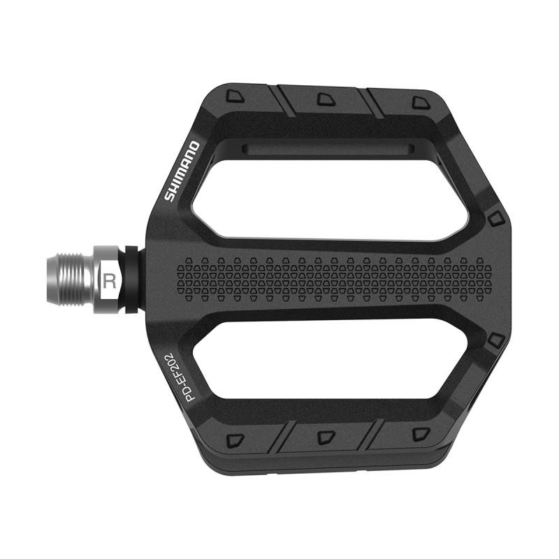 Pedal Düz Alüminyum PD-EF202 Siyah Shimano