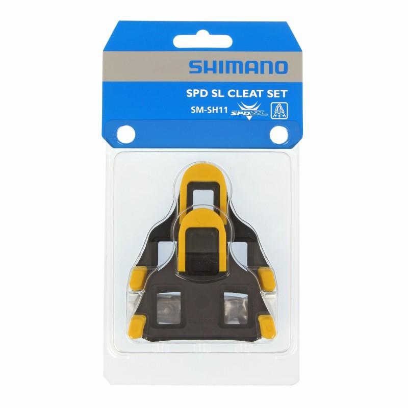 Kal Yol Shimano SPD-SL Sarı (6 derece) SM-SH11