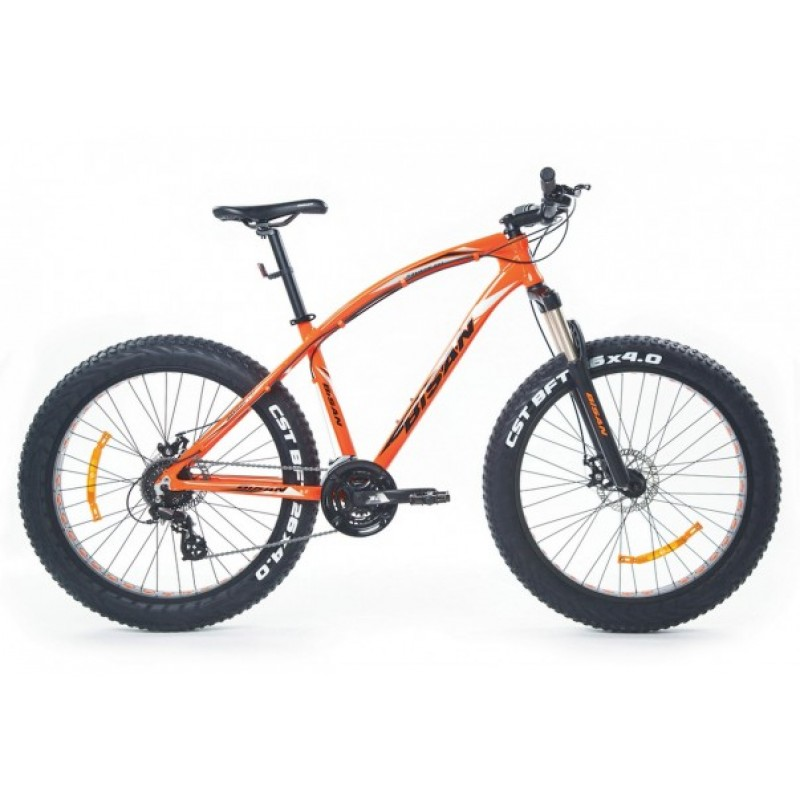 Bisan Savage Ft1 Fatbike (Turuncu)