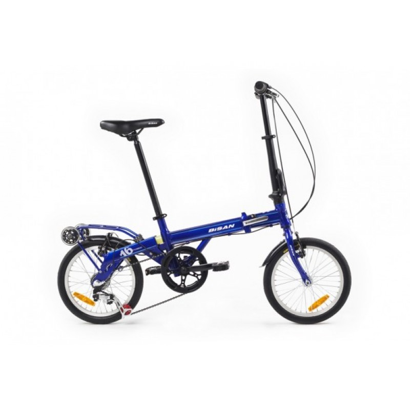 Bisan FX 3800 Katlanır Bisiklet (Mavi)
