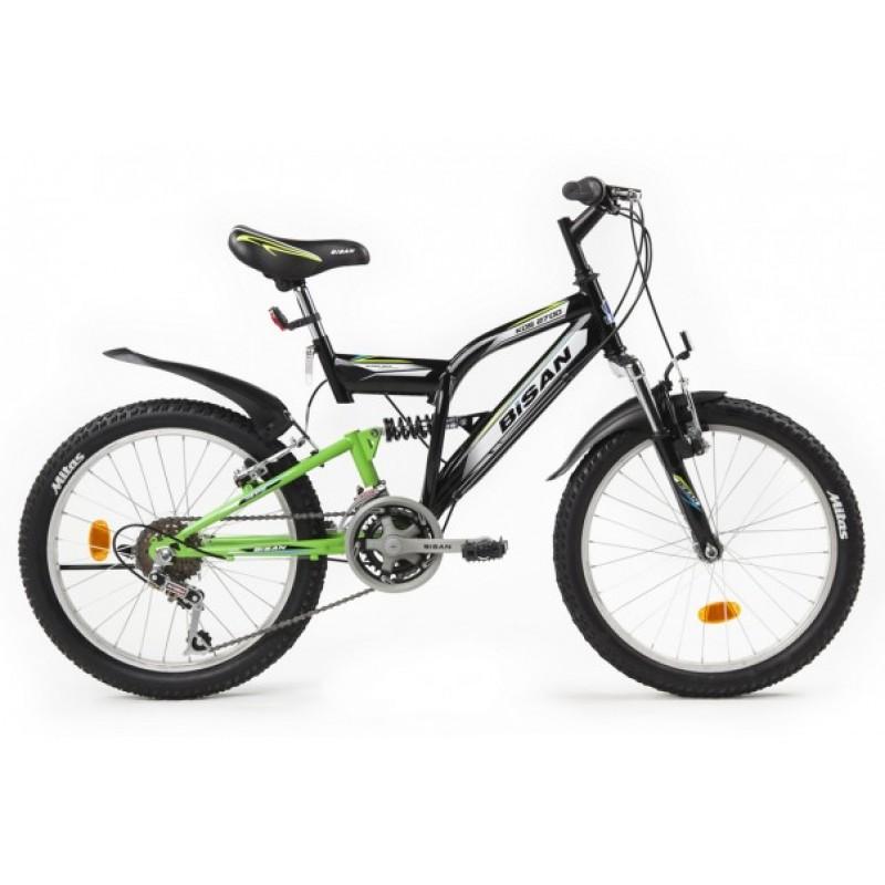 Bisan Kds 2700 Çocuk Bisikleti 20 Jant (Siyah-Sarı)