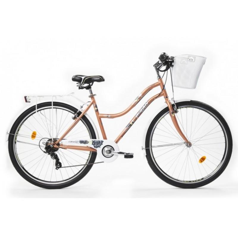 Bisan Cts 5300 Şehir Bisikleti 26 Jant (Beyaz Kı...