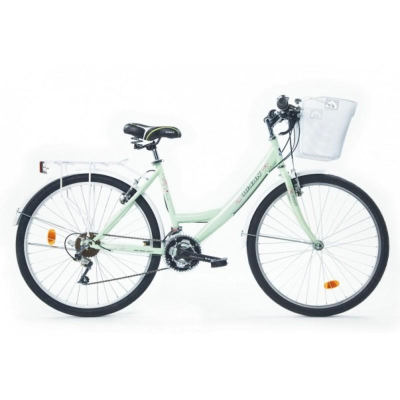 Bisan Cts 5100 Mabella Şehir Bisikleti 26 Jant (Pembe-Mor)