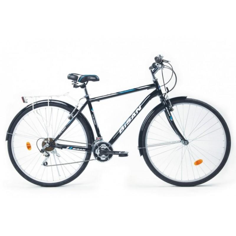 Bisan Cts 5200 Şehir Bisikleti 28 Jant (Gri-Turuncu)