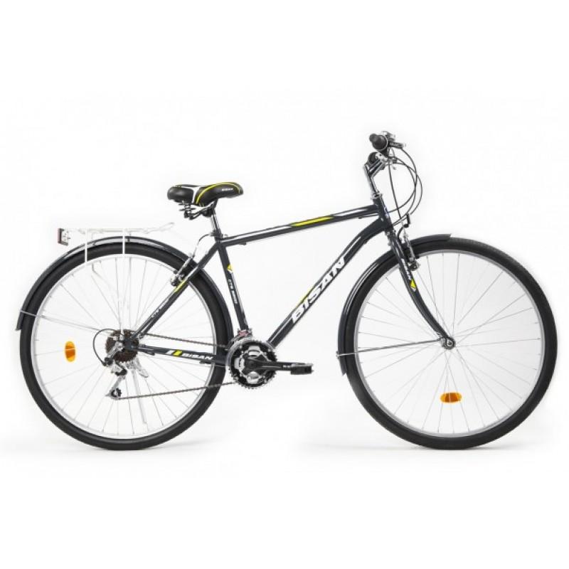 Bisan Cts 5200 Şehir Bisikleti 28 Jant (Siyah-Mavi)